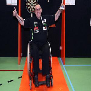 Darter Arie van der Rassel wint sportprijs