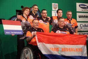 Nederland 3e op WDDA Winmau World Cup Darts