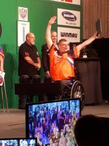 Nederland 3e op WDDA Winmau World Cup Darts1